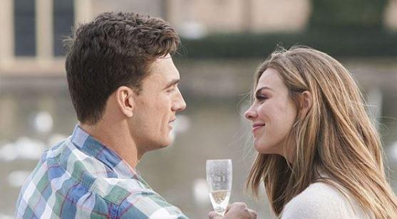 Tyler C with Hannah Bachelorette