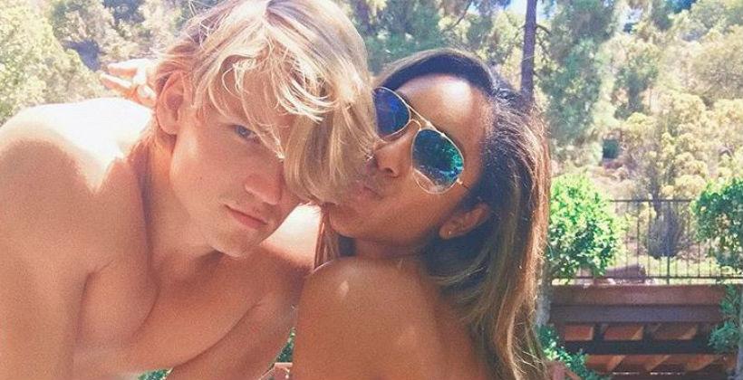 'Bachelor in Paradise' John Paul Jones and Tayshia Adams via Instagram
