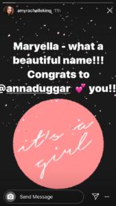 Amy Duggar Instagram