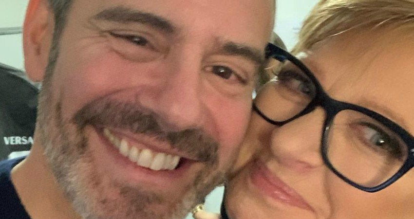 RHONJ Caroline Manzo Andy Cohen Instagram