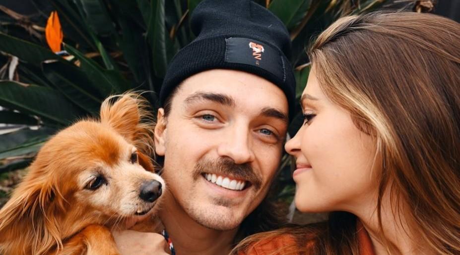 'BIP' Couple Caelynn Miller-Keyes and Dean Unglert via Instagram