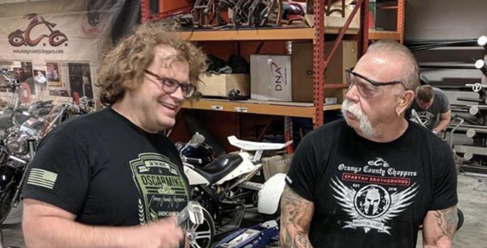 Mike Teutul, Paul Teutul Sr, American Chopper-https://www.instagram.com/p/Bxh98UAhEAL/