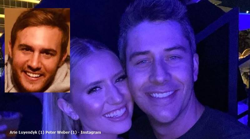 The Bachelor Arie Luyendyk and lauren Peter Weber