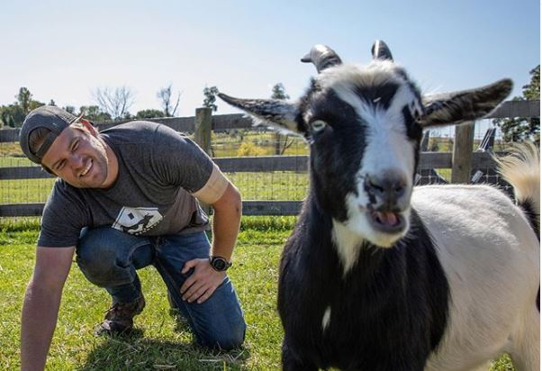 Dan Saved by the Barn Instagram