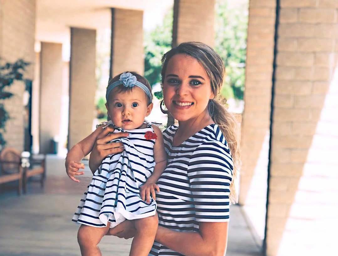 Jinger Duggar Vuolo with daughter, Felicity