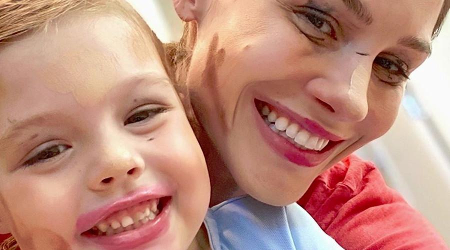 RHOC Meghan King and daughter Aspen Instagram