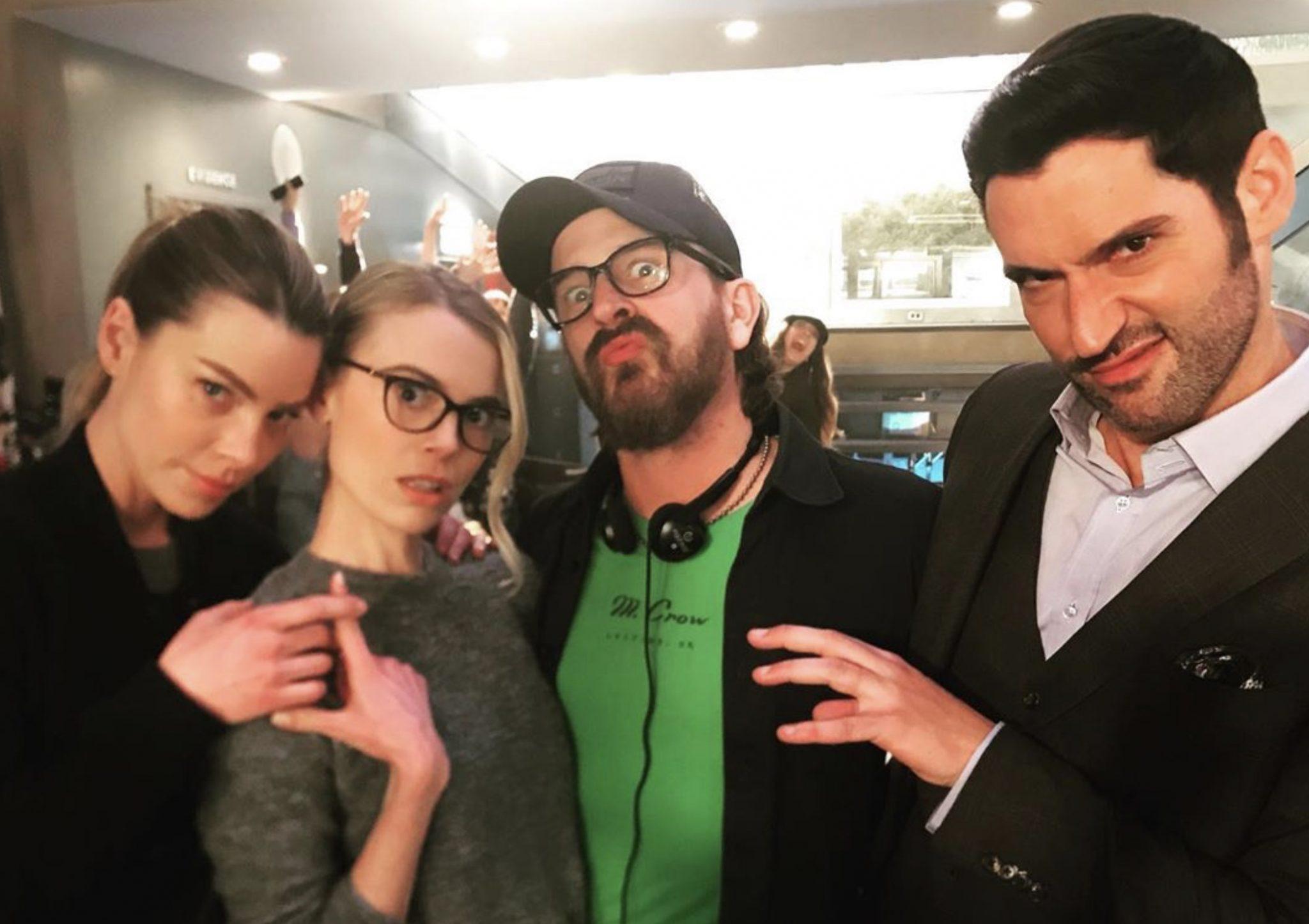 Lauren German, Tom Ellis, Lucifer-https://www.instagram.com/p/B8jlz8CpYA4/