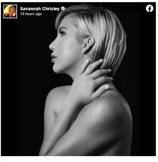 Savannah Chrisley topless