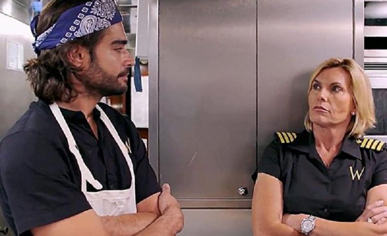 below deck med stars chef kiko and captain sandy instagram post