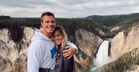 Christian Huff and Sadie Robertson via Instagram