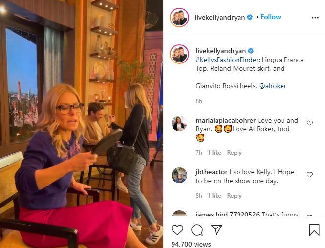 Kelly Ripa calls herself hideous