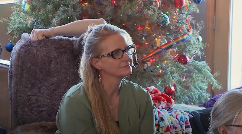 Sister Wives - Christine Brown Xmas tree