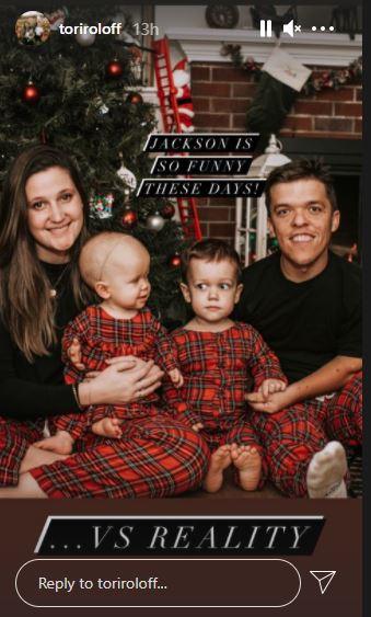 Tori Roloff family Hilarious Jackson