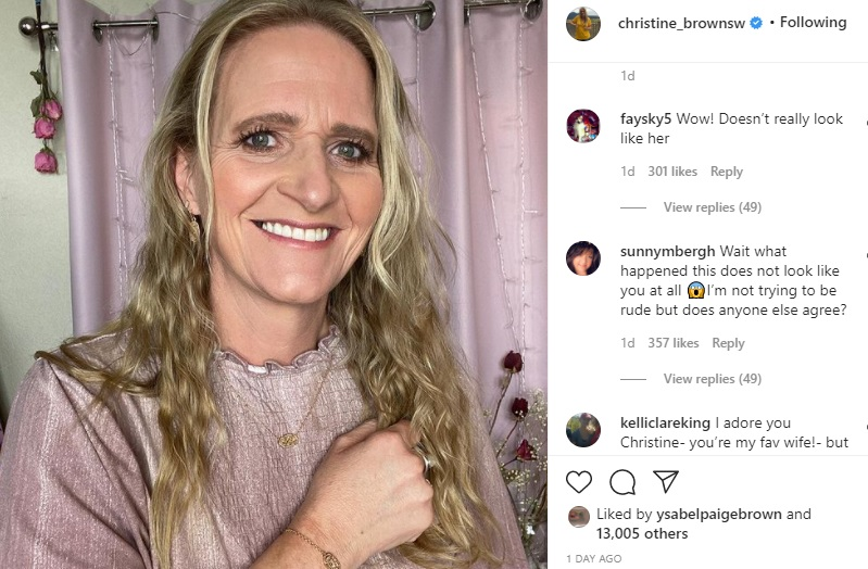 Christine Brown Instagram