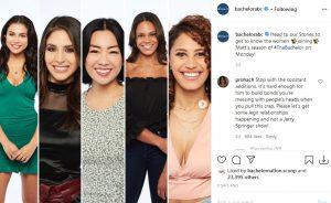 The Bachelor ABC Instagram