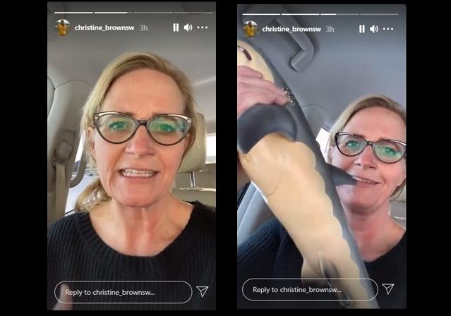 Christine Brown Gets Scammed Online