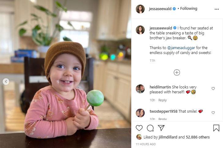 Jessa Seewald daughter Ivy Cuteness