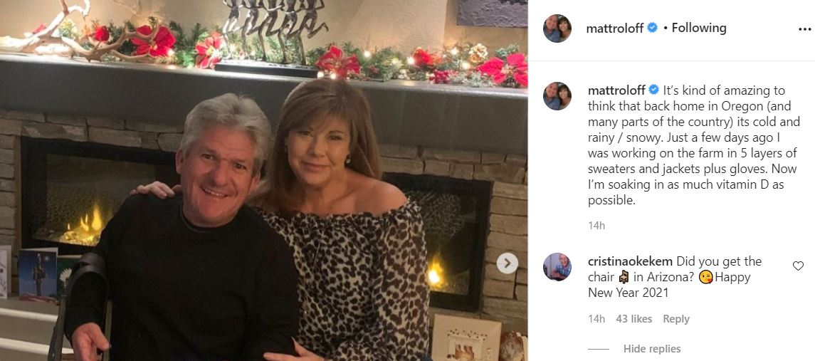 Matt Roloff catches up with Vitamin D in Arizona