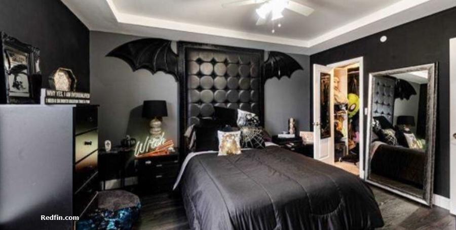 Unpolished Lexi Marton townhouse bedroom