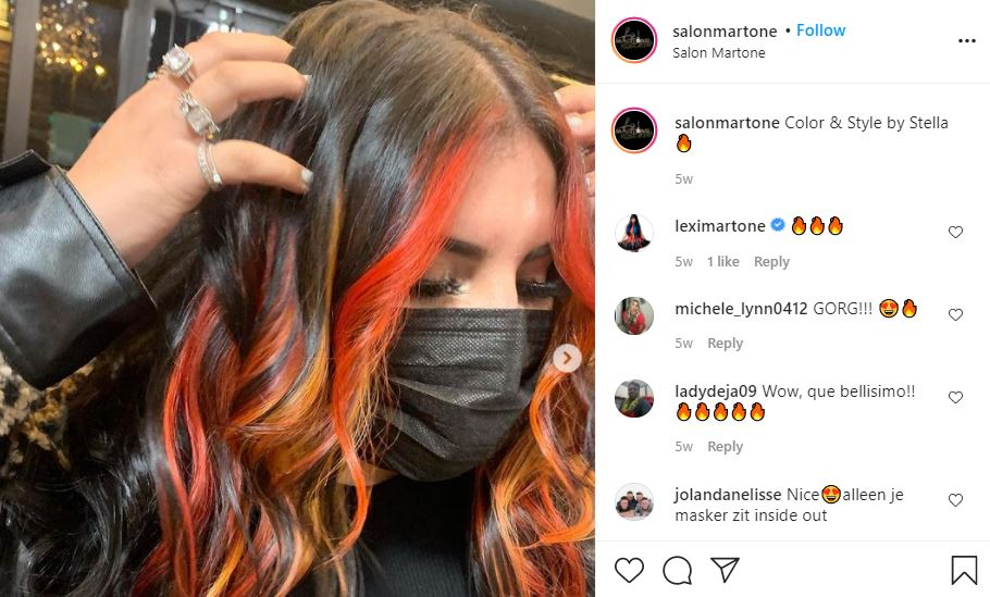 Unpolished Salon Martone hair