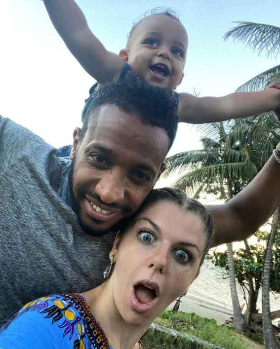 90 Day Fiance stars Ariela, Biniyam and Aviel