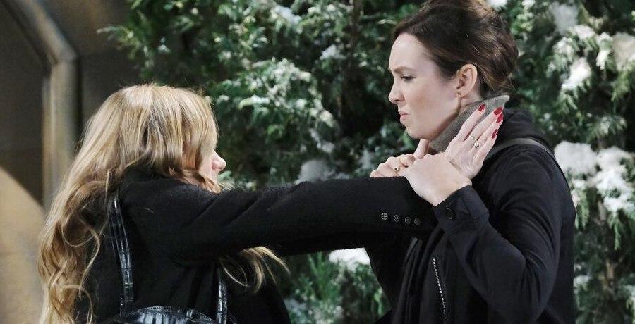 Abigail Deveraux (Marci Miller) - Gwen Rizczech (Emily O'Brien) / NBC