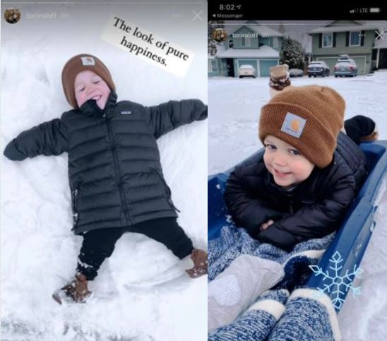 Tori Roloff Shares Jackson Pure Happiness