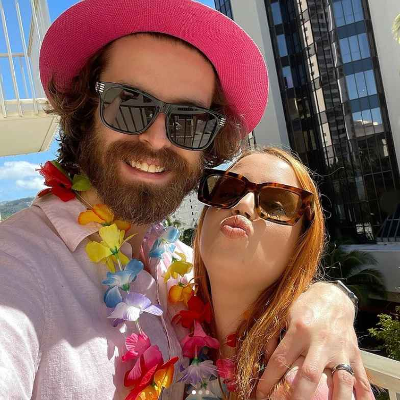90 Day Fiance stars Jess Caroline and Brian Hanvey on honeymoon in Hawaii