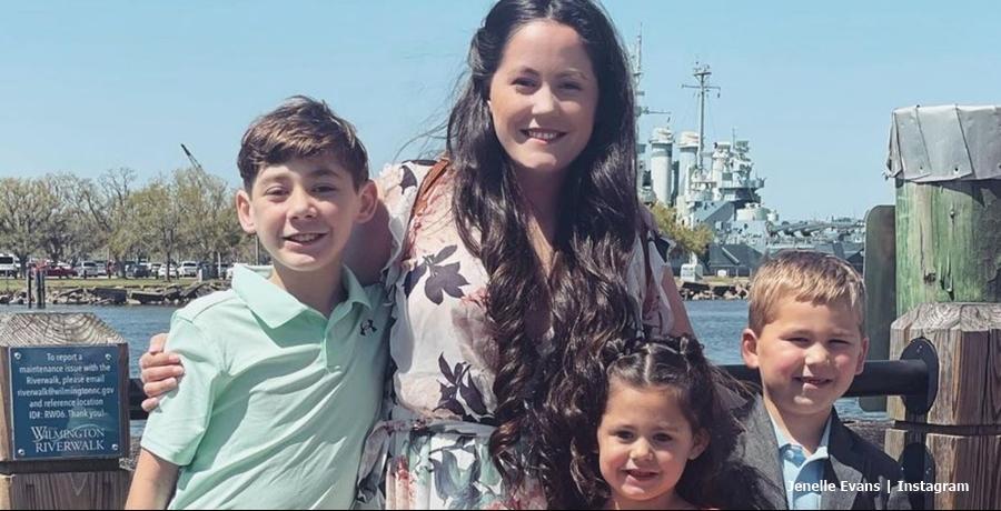 Jenelle & David Eason kids