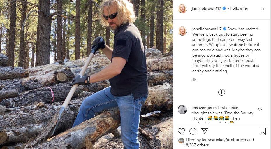 Kody Brown's Job Sees Him Working Hard In Flagstaff