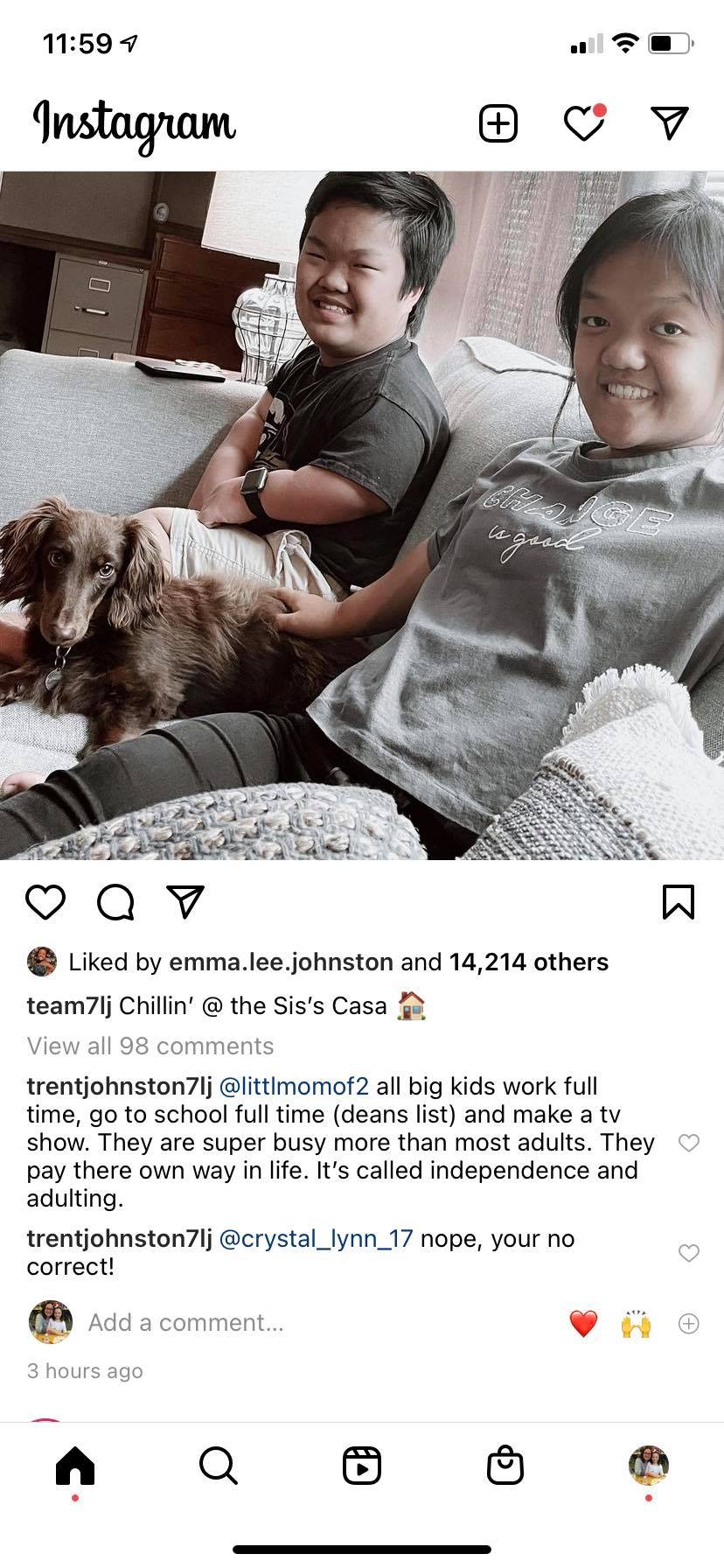 Do Trent And Amber Johnston Pay For The Older Kids New Accommodation - 7 Little Johnstons