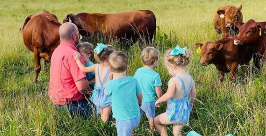 Courtney Waldrop Farming Sweet Home Sextuplets