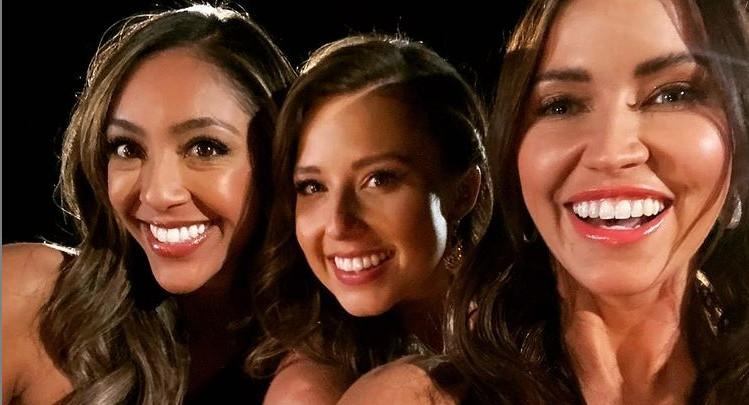 Tayshia Adams, Katie Thurston, Kaitlyn Bristowe via Instagram