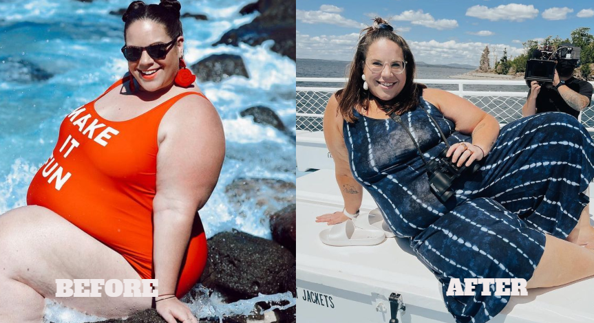 Whitney Thore Major weight loss my big fat fabulous life