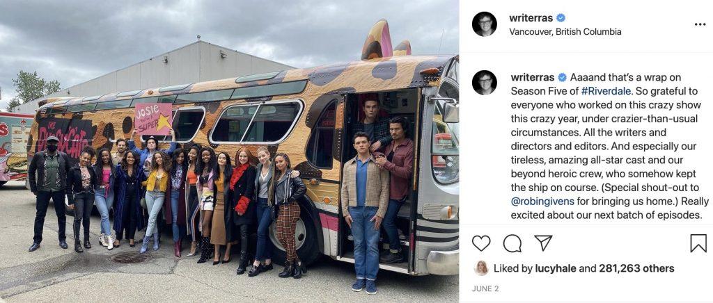 Riverdale-https://www.instagram.com/p/CPm_Qf1jYLT/