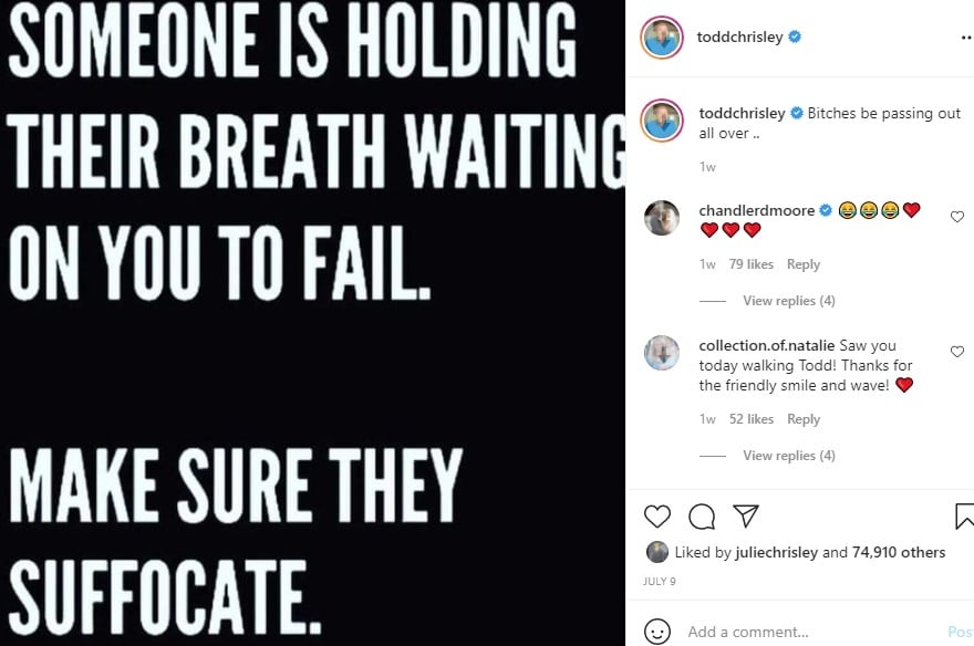 Todd Chrisley - Instagram