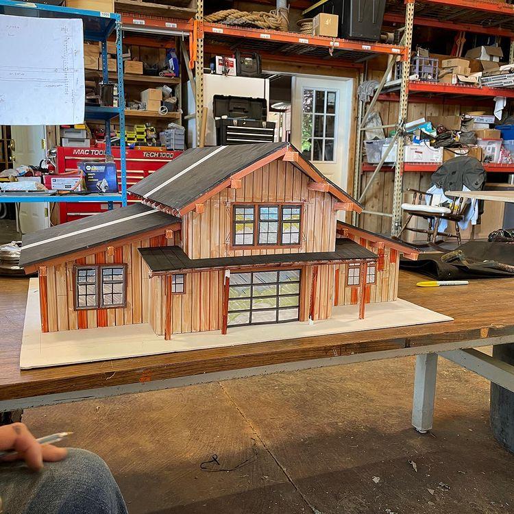 New Building Model: Credit: Matt Roloff/Instagram