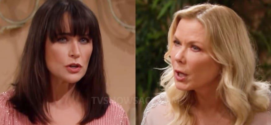 Bold and the Beautiful Quinn Fuller - Rena Sofer - Brooke Logan - Katherine kelly lang
