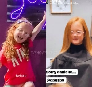 Hazel Busby Hair Instagram