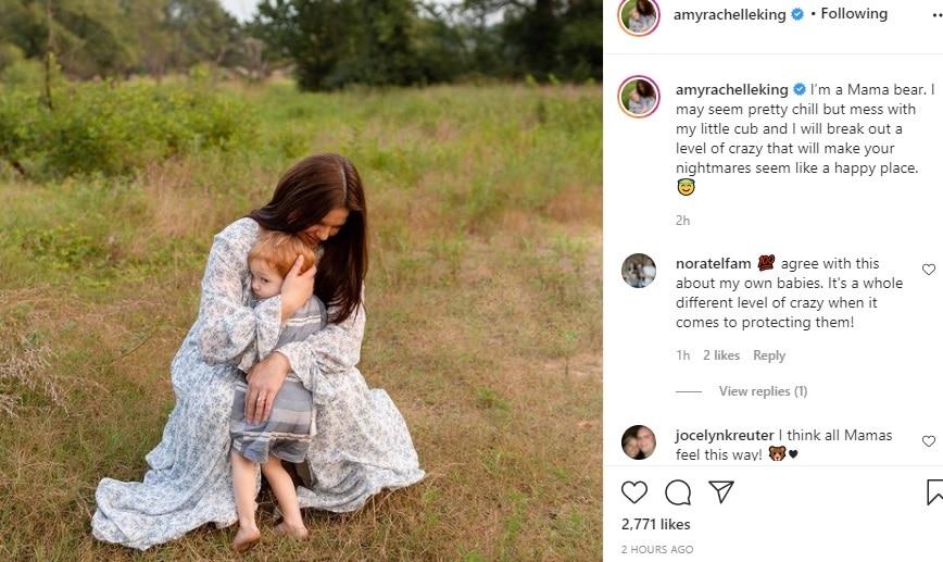 Amy Duggar King Instagram